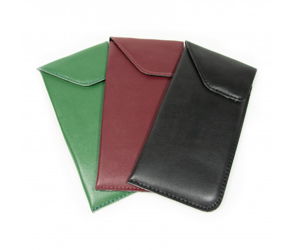 E12 Large padded vegan leather slip in with velcro closure