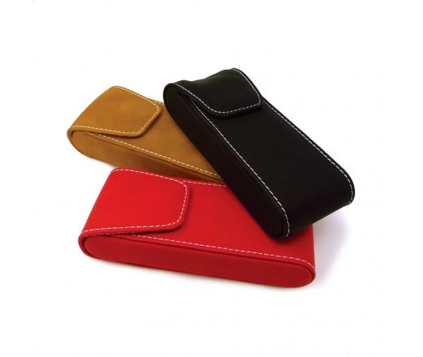 E22M Vegan Leather Pocket Case With Magnet closure