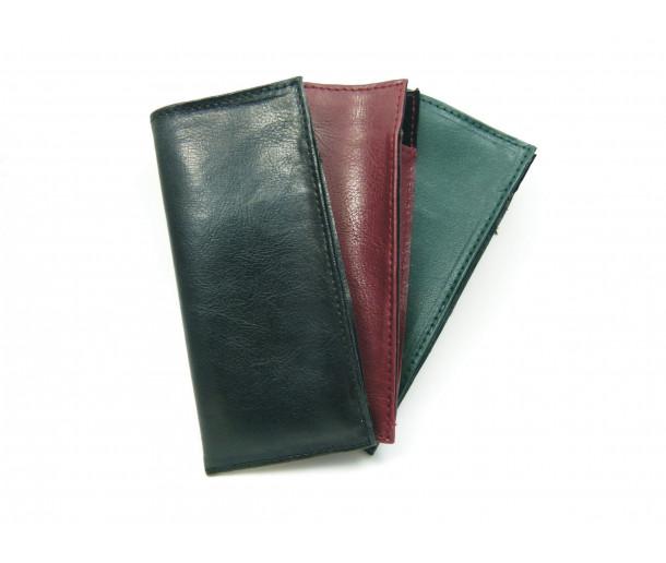 E107 Medium Vegan-Leather Slip-in Case with Gusset