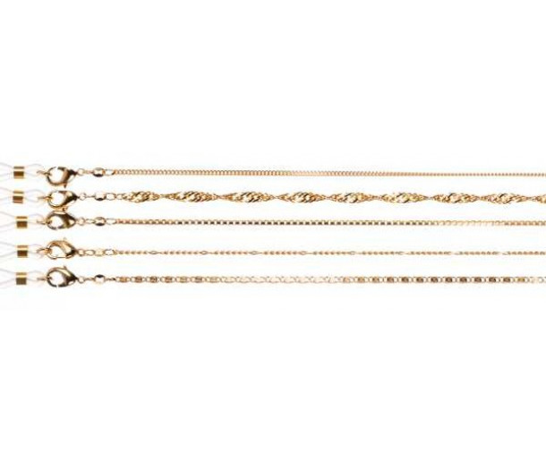 Luxury Rolled-Gold Chain