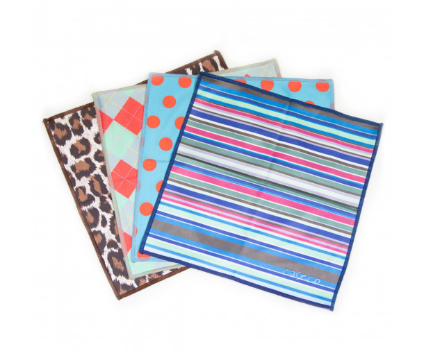 Patterned Microfibre Cloth Pack