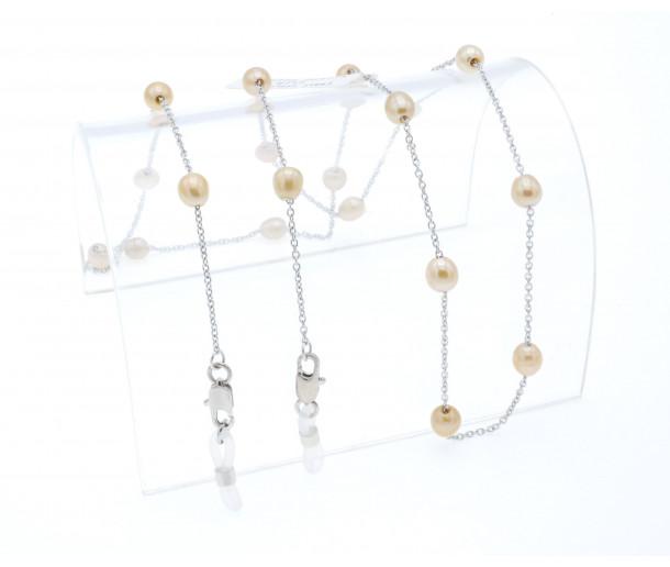 Luxury Caramel Pearl Chain No.260