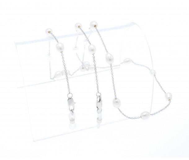 Luxury White Pearl Chain No.259