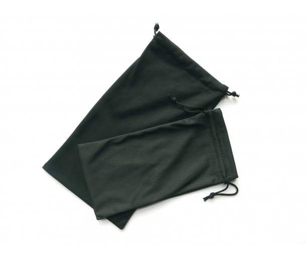 Extra-Large Microfibre Black Bag